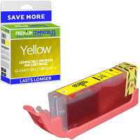 Premium Compatible Canon CLI-581YXXL Yellow Extra High Capacity Ink Cartridge (1997C001)