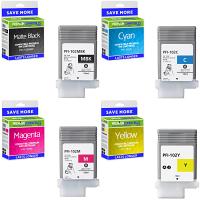 Premium Compatible Canon PFI-102 C, M, Y, MBK Multipack Ink Cartridges (0894B001 / 0896B001 / 0897B001 / 0898B001)