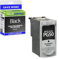 Premium Remanufactured Canon PG-50 Black High Capacity Ink Cartridge (0616B001)