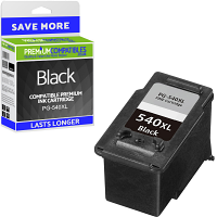 Premium Remanufactured Canon PG-540XL Black High Capacity Ink Cartridge (5222B005AA)