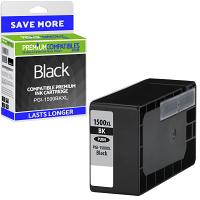 Premium Compatible Canon PGI-1500BKXL Black High Capacity Ink Cartridge (9182B001)