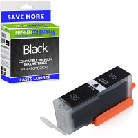 Premium Compatible Canon PGI-570PGBKXL Black High Capacity Ink Cartridge (0318C001)