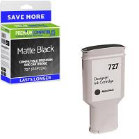 Premium Remanufactured HP 727 Matte Black High Capacity Ink Cartridge (B3P22A)
