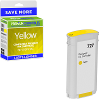 Premium Remanufactured HP 727 Yellow High Capacity Ink Cartridge (B3P21A)