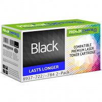 Premium Compatible Konica Minolta TN114 Black Twin Pack Toner Cartridges (8937-722/-784)