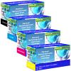 Premium Remanufactured Dell 593-BB CMYK Multipack Toner Cartridges (593-BBSG/ 593-BBSC/ 593-BBRX/ 593-BBRY)