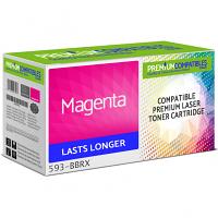 Premium Compatible Dell 593-BBRX Magenta Toner Cartridge (593-BBRX)