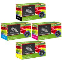 Premium Compatible Dell 593-BCB CMYK Multipack Extra Longer Lasting Toner Cartridges (593-BCBC/ 593-BCBF/ 593-BCBE/ 593-BCBD)