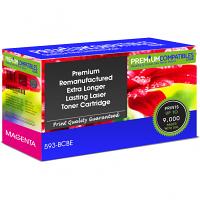 Premium Remanufactured Dell M9TTM Magenta Extra Longer Lasting Toner Cartridge (593-BCBE)