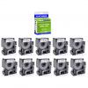 Premium Compatible Dymo 53713 Black On White 24mm x 7m D1 Labelling Tape (S0720930)
