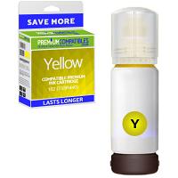 Premium Compatible Epson 102 Yellow Ink Bottle (C13T03R440)