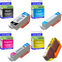Premium Compatible Epson 26XL CMYK Multipack High Capacity Ink Cartridges (C13T26364010) T2636 Polar Bear