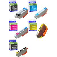 Premium Compatible Epson 26XL C, M, Y, K, PB Multipack High Capacity Ink Cartridges (C13T26314010 / C13T26364010) T2631 & T2636 Polar Bear