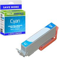 Premium Compatible Epson 26XL Cyan High Capacity Ink Cartridge (C13T26324010) T2632 Polar Bear