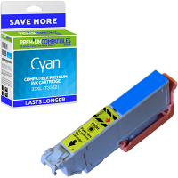 Premium Compatible Epson 33XL Cyan High Capacity Ink Cartridge (C13T33624010) T3362 Oranges