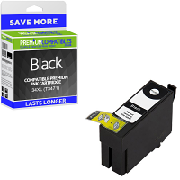 Premium Compatible Epson 34XL Black High Capacity Ink Cartridge (C13T34714010)