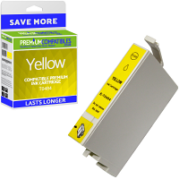 Premium Compatible Epson T0484 Yellow Ink Cartridge (C13T04844010)
