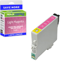 Premium Compatible Epson T0486 Light Magenta Ink Cartridge (C13T04864010)