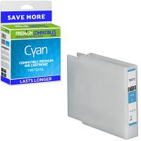 Premium Compatible Epson T9072XXL Cyan Extra Longer Lasting Ink Cartridge (C13T907240)