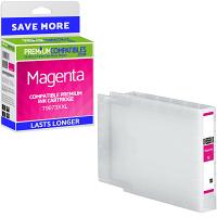 Premium Compatible Epson T9073XXL Magenta Extra Longer Lasting Ink Cartridge (C13T907340)