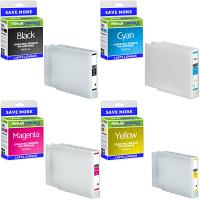Premium Compatible Epson T908XL CMYK Multipack High Capacity Ink Cartridges (T9081 / T9082 / T9083 / T9084)