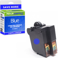 Premium Remanufactured Frama 1018967 Blue Franking Ink Cartridge (10395-801)