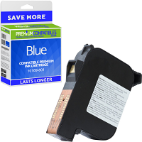 Premium Remanufactured Francotyp Postalia 58.0032.0020.00 Blue Franking Ink Cartridge (10169-801)