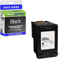 Premium Remanufactured HP 301XL Black High Capacity Ink Cartridge (CH563EE)