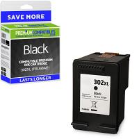 Premium Remanufactured HP 302XL Black High Capacity Ink Cartridge (F6U68AE)