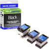 Premium Remanufactured HP 302XL High Capacity 3 x Black Ink Tanks & Printhead Multipack (F6U68AE)