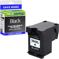 Premium Remanufactured HP 304XL Black High Capacity Ink Cartridge (N9K08AE)