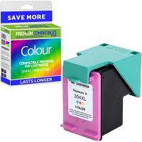 Premium Remanufactured HP 304XL Colour High Capacity Ink Cartridge (N9K07AE)