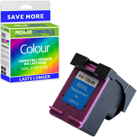Premium Remanufactured HP 62XL Colour High Capacity Ink Cartridge (C2P07AE)