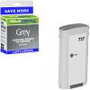 Premium Remanufactured HP 727 Grey High Capacity Ink Cartridge (B3P24A)