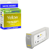 Premium Remanufactured HP 831C Yellow Latex Ink Cartridge (CZ697A)
