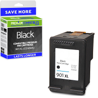 Premium Remanufactured HP 901XL Black High Capacity Ink Cartridge (CC654A)