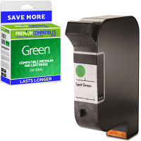 Premium Remanufactured HP C6169A Green Spot Colour Addressing Machine Ink Cartridge (10090-803)