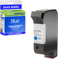 Premium Remanufactured HP C6170A Blue Spot Colour Addressing Machine Ink Cartridge (10091-803)