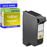 Premium Remanufactured HP C6173A Yellow Spot Colour Addressing Machine Ink Cartridge (10092-803)