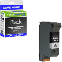 Premium Remanufactured HP C6195A Fast Drying Black Addressing Machine Ink Cartridge (10086-803)