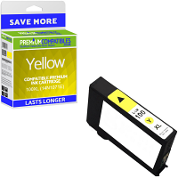 Premium Compatible Lexmark 100XL Yellow High Capacity Ink Cartridge (14N1071E)