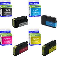 Premium Compatible Lexmark 210XL CMYK Multipack High Capacity Ink Cartridges (14L0174E / 14L0269E)