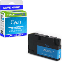 Premium Compatible Lexmark 210XL Cyan High Capacity Ink Cartridge (14L0175E)