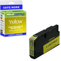 Premium Compatible Lexmark 210XL Yellow High Capacity Ink Cartridge (14L0177E)