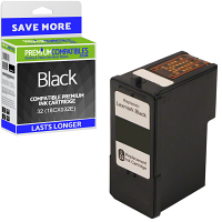 Premium Remanufactured Lexmark 32 Black Ink Cartridge (18CX032E)