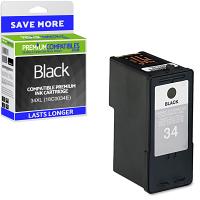 Premium Remanufactured Lexmark 34XL Black High Capacity Ink Cartridge (18C0034E)