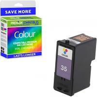 Premium Remanufactured Lexmark 35XL Colour High Capacity Ink Cartridge (18C0035E)