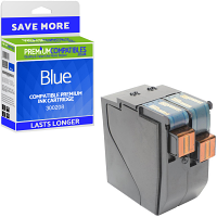 Premium Remanufactured Neopost 300208 Blue Franking Ink Cartridge (10182-801)