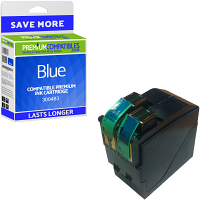 Premium Remanufactured Neopost 300483 Blue Franking Ink Cartridge (10183-801)