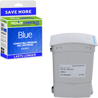 Premium Remanufactured Neopost 300485 Blue Franking Ink Cartridge (10399-801)